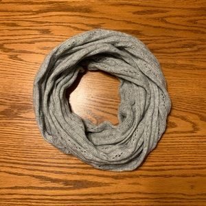 Gray really soft infinity scarf